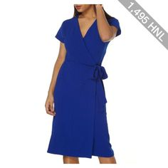Women's Dorothy Perkins Wrap Midi Dress