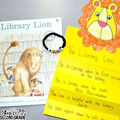 This week the students have been reading Library Lion . Library Lion is one of the stories from our Rooted in Reading March ! {Side-note....