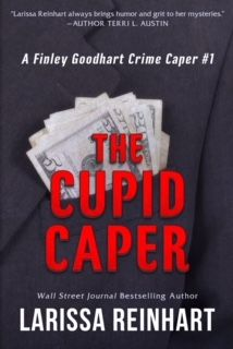 "Laura's Interests: THE CUPID CAPER #bookreview ""Using multiple personalities and never staying in one place more than a few hours, Fin Goodhart is a woman with a mission. You'll fall for her even as you fear for her life - over and over.   The mysterious Lex and Dot have appealing qualities as well.   This is a dangerous mystery with many layers. I can not wait for the next adventure."" #crimethriller #conartist #mysteryseries #amateursleuth #Atlanta #southernauthor #books"