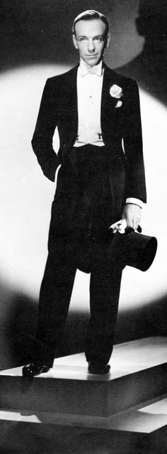 "Fred Astaire …..WHAT A TRUE GENTLEMAN HE WAS……NEVER A BREATH OF SCANDAL……AND, COULD THAT GUY DANCE…..HE WAS THE --""TOPS""……….ccp"