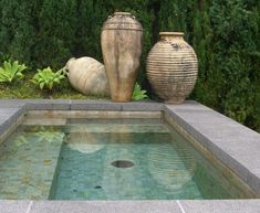 15 Modern Mediterranean Backyard Makeover On A Budget - futurian Backyard Pool Designs, Small Backyard Pools, Small Pools, Backyard Landscaping, Swimming Pool House, Natural Swimming Pools, Outdoor Swimming Pool, Natural Pools, Indoor Pools