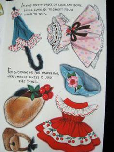 Vintage 1960's Hallmark Paper Doll Barbara Ann (04/16/2011)