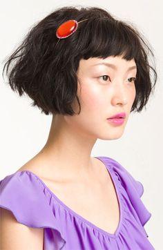 Cute Easy Hairstyles for Short Hair - Hair Styles Cute Short Haircuts, New Haircuts, Easy Hairstyles, Japanese Hairstyles, Wedding Hairstyles, Short Hair Styles Easy, Short Hair Cuts, Curly Hair Styles, Short Bangs