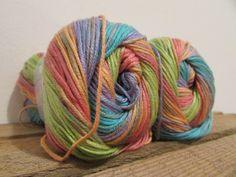 Wolle & Garn - Rellana Batik 100g 260m multicolor (29) - ein Designerstück von wollendet bei DaWanda