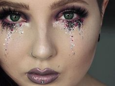 Glitter Tears = Your Festival Makeup Must