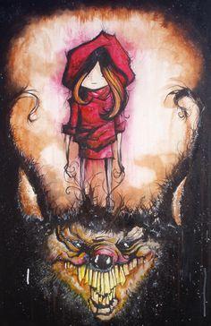 Little Red Riding Hood by `schmaltz on deviantART