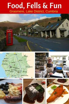 The Lake District Cumbria is located in Northern England and a perfect place to explore beautiful countryside and amazing local food.