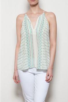 Trinetta Silk Top / $1,720