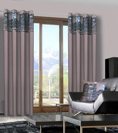 Perdea City 140X250 Maro Închis 1 buc #homedecor #inspiration #interiordesign #decoration Curtains, Interior Design, City, Modern, Inspiration, Home Decor, Decoration, Products, Nest Design