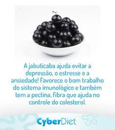A jabuticaba apesar de pequena tem muito a oferecer para sua saúde! Mais dicas como essa em: https://facebook.com/cyberdietoficial