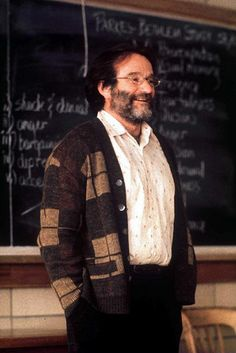 Robin Williams in Good Will Hunting by cooperscooperday, via Flickr