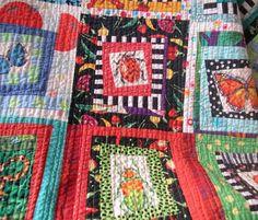Kid's bug quilt