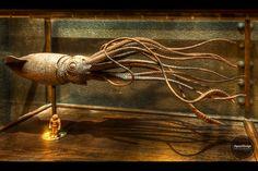 The monster of the _Nautilus_ at Disneyland Paris Nautilus Submarine, Walt Disney Imagineering, Giant Squid, Leagues Under The Sea, The Time Machine, Disney Art, Disney Stuff, Amazing Art, Amazing Things