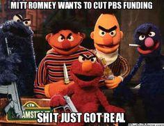 Angry Sesame Street