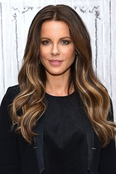 Lowlights for Brown Hair: Inspiring Pics From Celebrities. Lowlights for brown hair are great. Pretty much the direct opposite of highlights, getting Lowlights involves darkening sections of the hair to create more depth. Balayage Hair Blonde Medium, Long Brunette Hair, Brown Blonde Hair, Light Brown Hair, Light Hair, Ash Brunette, Summer Brunette, Dark Brown, Brown Hair With Lowlights