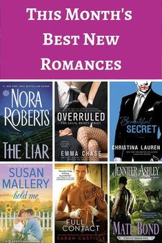 Hot new releases from Nora Roberts, Emma Chase, and more!