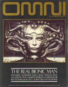 November 1978 #Omni #magazine #SyFi #art #future