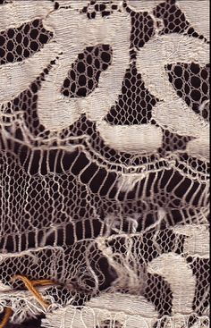 Lace samples from Sophie Hallette