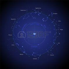 Horoszk p Csillag Stock fotó