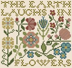 My Heartstring: Free Chart... The Earth Laughs in Flowers.