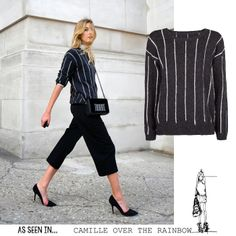 * AS SEEN IN Camille over the Rainbow * Shop now! >> http://mng.us/SweaterDAKAR #Blogger #CamilleOverTheRainbow #FW13