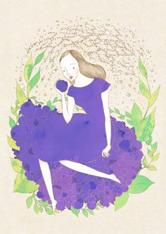 blueberry by hana jang, via Behance