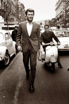 Clint Eastwood: Fall in Rome (mid 60s)
