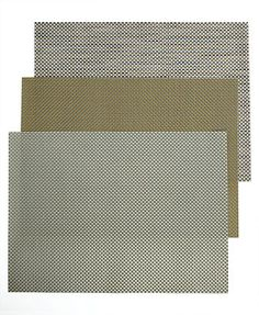 Chilewich Basketweave Woven Vinyl Placemat Collection - aluminum