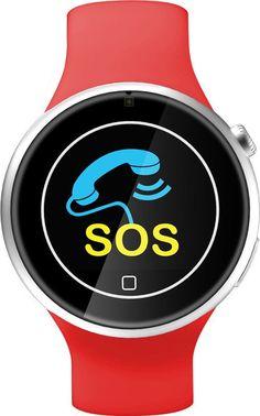 2016 Smart Clock Waterproof Sport Smart Watch On Wrist Health Relojes  Bluetooth Intelligent Watch With Heart Rate Monitor 699179045569