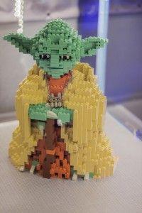 LEGO Gwiezdne Wojny Yoda | Star Wars Yoda justineyes.com #LEGO