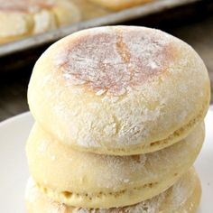 These Einkorn English Muffins are a healthy version of the chewy yeast bread we all love. And it's so easy to make!
