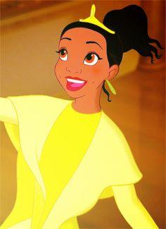 "disneyismyescape: "" Disney Alphabet - T for Tiana """