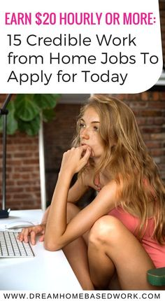 Earn $20 Hourly or More: 15 Credible Work from Home Jobs to Apply for Today
