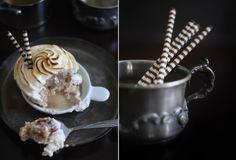 Sprinkle Bakes: Flaming Baked Alaska Cupcakes