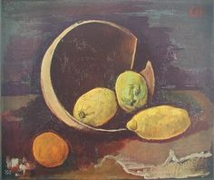 Karl Hofer, Stilleben mit Zitronen