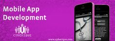 #App_Development - Looking to hire best #Mobile #App #Development Company in India, USA  UK & worldwide. Cyberique recognized as one of the top app development companies. See more: http://www.cyberique.com/app-development-service.php