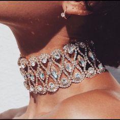 Gigi Crystal Diamond Choker