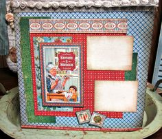 Graphic 45 Home Sweet Home Layout Kit - to order go to VintageCropSpot ETSY shop!