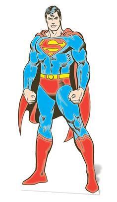 DC Comics Superman Lifesize Cardboard Cutout - 1.87m