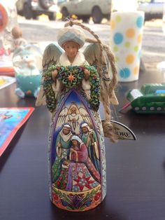 jim shore angel ornament  - http://collectiblefigurines.net/jim-shore/christmas/jim-shore-angel-ornament/