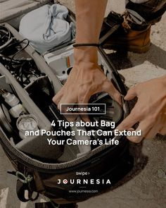 . Camera Life, Cool Captions, Small Waterfall, Advertising Ads, All You Can, Treat Bags, Take Care Of Yourself, You Bag, Pouch
