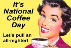 National Coffee Day Sept. 29