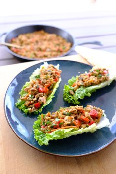 Asian Lettuce Wraps | Whole Sisters