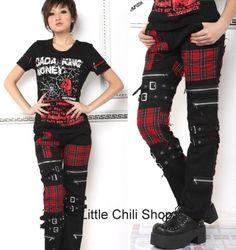 PUNK VISUAL KEI SLIM LOOK MUMMY 71173 PANTS size S-XL   eBay
