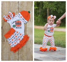 36 Adorable Toddler Girl Thanksgiving Outfit, If you are able to encourage your baby to have a nap, do so. Especially when you have children, Easter portraits are a fantastic way to not just celeb. Baby Girl Halloween Outfit, Toddler Halloween Costumes, Halloween Outfits, Baby Halloween, Girls Thanksgiving Outfit, Pumpkin Patch Outfit, Cute Pumpkin, 1st Birthdays, Cute Baby Clothes