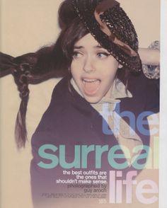The Surreal Life  Nylon April '09