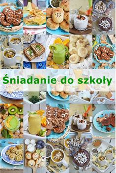 Śniadanie do szkoły Baby Food Recipes, Diet Recipes, Healthy Breakfast Recipes, Healthy Recipes, Quiche, Good Food, Yummy Food, Breakfast For Kids, Food Design