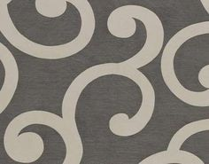 Bold big print-would love this for a comforter! grey my new fav color!