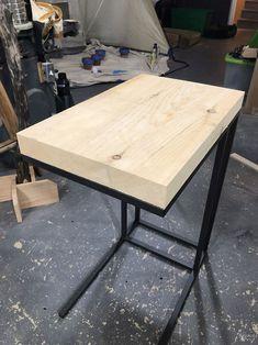 Ikea Laptop Table, Bedside Table Ikea, Ikea Side Table, Ikea Lack Table, Console Table, Ikea Desk, Laptop Desk, Side Tables, Vittsjo Hack
