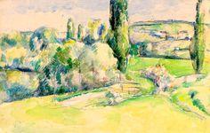 Paul Cézanne 1839 - 1906 La Côte Du Jallais À Pontoise